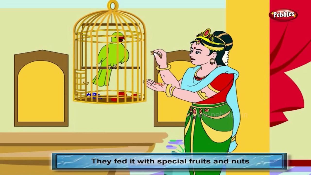 Born to be Free | Tenali Raman Stories in English | Tenaliram Stories |  Tenali Raman Adventures