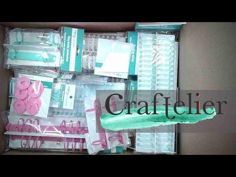 CRAFTELIER Craft Haul   Mini Album Supplies