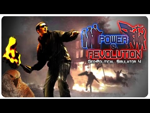 Power and Revolution (Geopolitical Simulator 4) | Falcon 1 Shot | Power & Revolution Gameplay