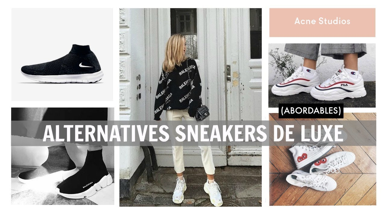 0923fb47cd7 ALTERNATIVES AUX SNEAKERS DE LUXE • CDG BALENCIAGA DAD SHOES ...
