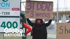 Global National: April 11, 2020   Criminal investigation into deaths at Quebec care home