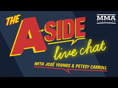 The A-Side Live Chat: Israel Adesanya's rise to superstardom, Robert Whittaker's future