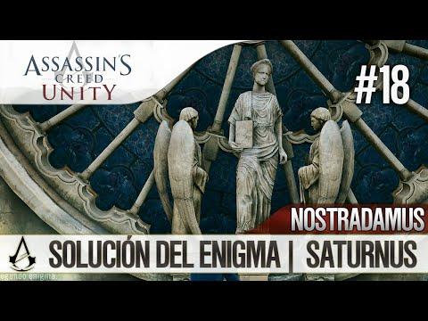 Assassin's Creed Unity   Guía en Español Walkthrough   Enigma Nostradamus   SATURNUS   Solución