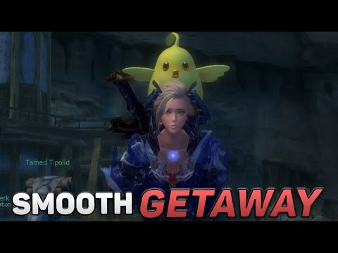 Aion 5.5 Gameplay – A Smooth Getaway!