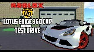 *NEW* Lotus Exige 360 CUP TEST DRIVE REVIEW! | Ultimate Driving (Roblox)