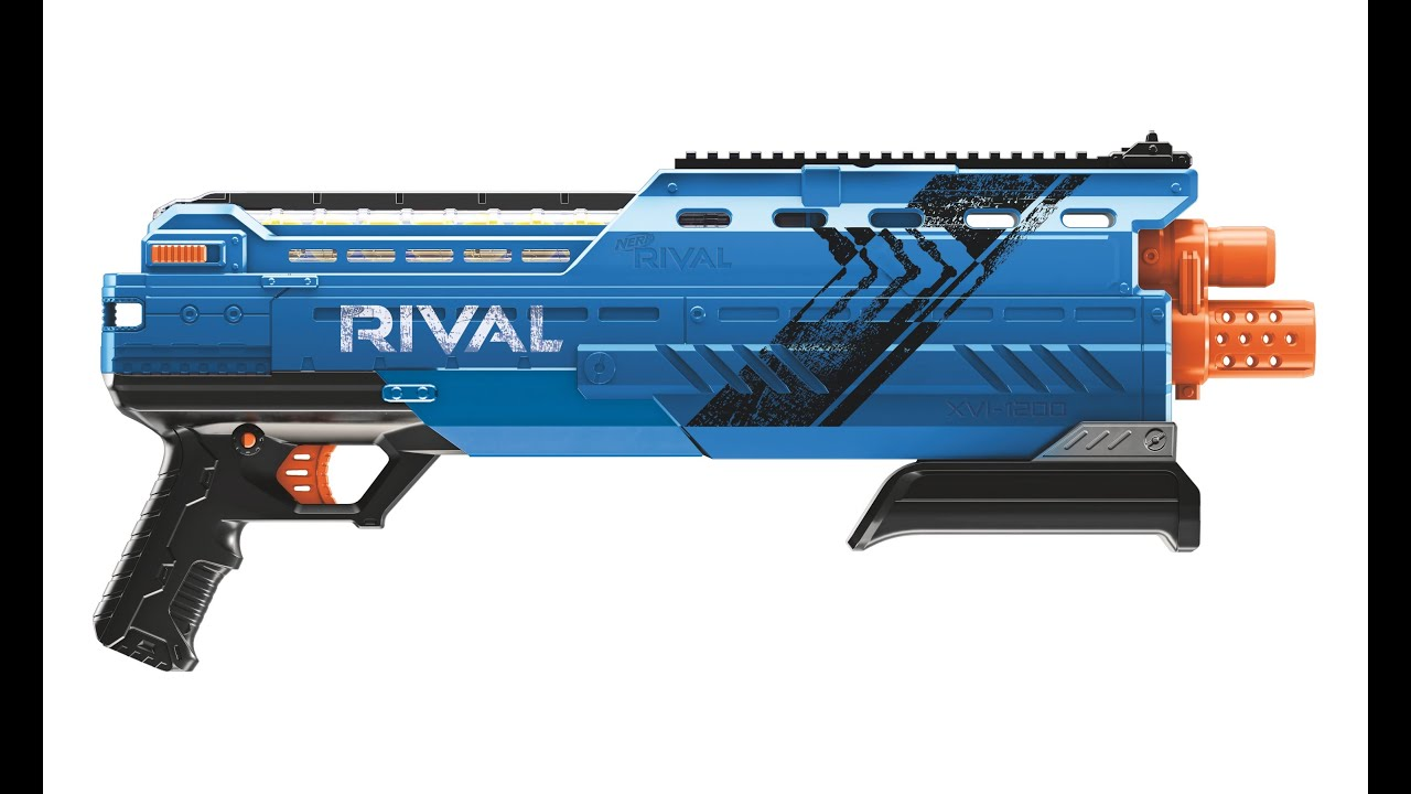 NERF RIVAL ATLAS XVI 1200 Blaster Quick First Look Toy Fair 2016