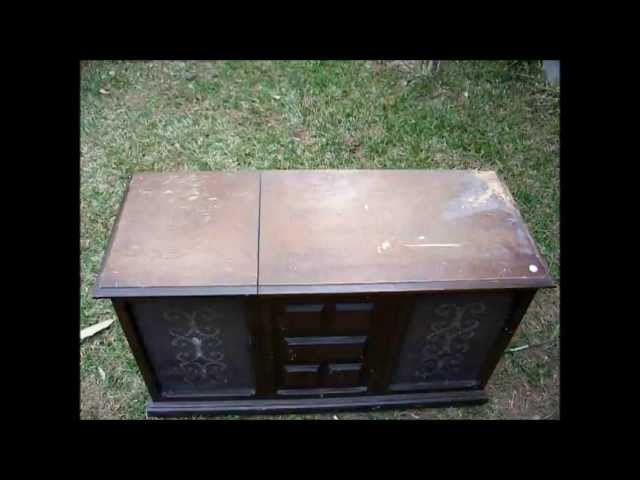 EOL (end of the line) for a 1970 Howard console stereo
