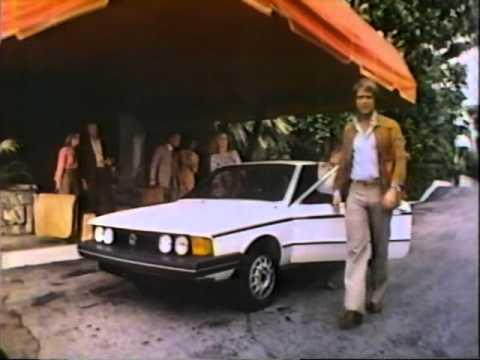 Volkswagen Scirocco Commercial 1980