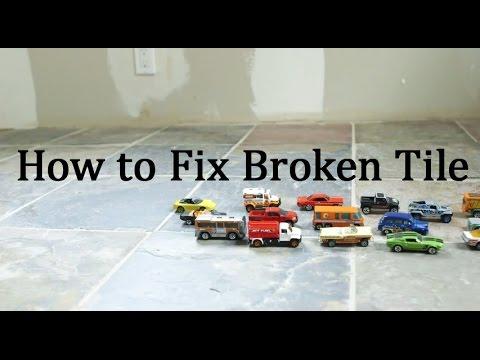 How to Fix Broken Floor Tile