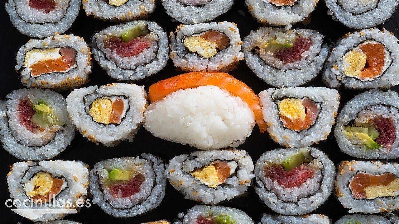 Sushi Casero La Receta Más Rápida Y Fácil Para Hacer Makis Y Nigiris