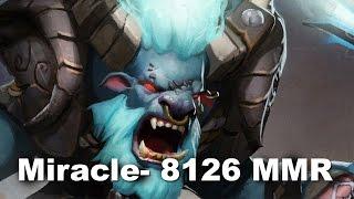 Miracle- Spirit Breaker Bashlord 8126 MMR Pub Dota 2