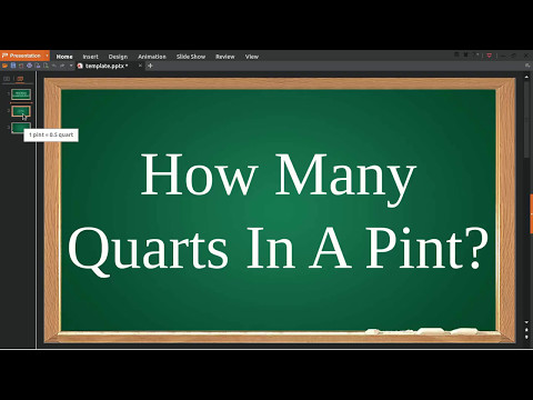 How Many Quarts In Pint