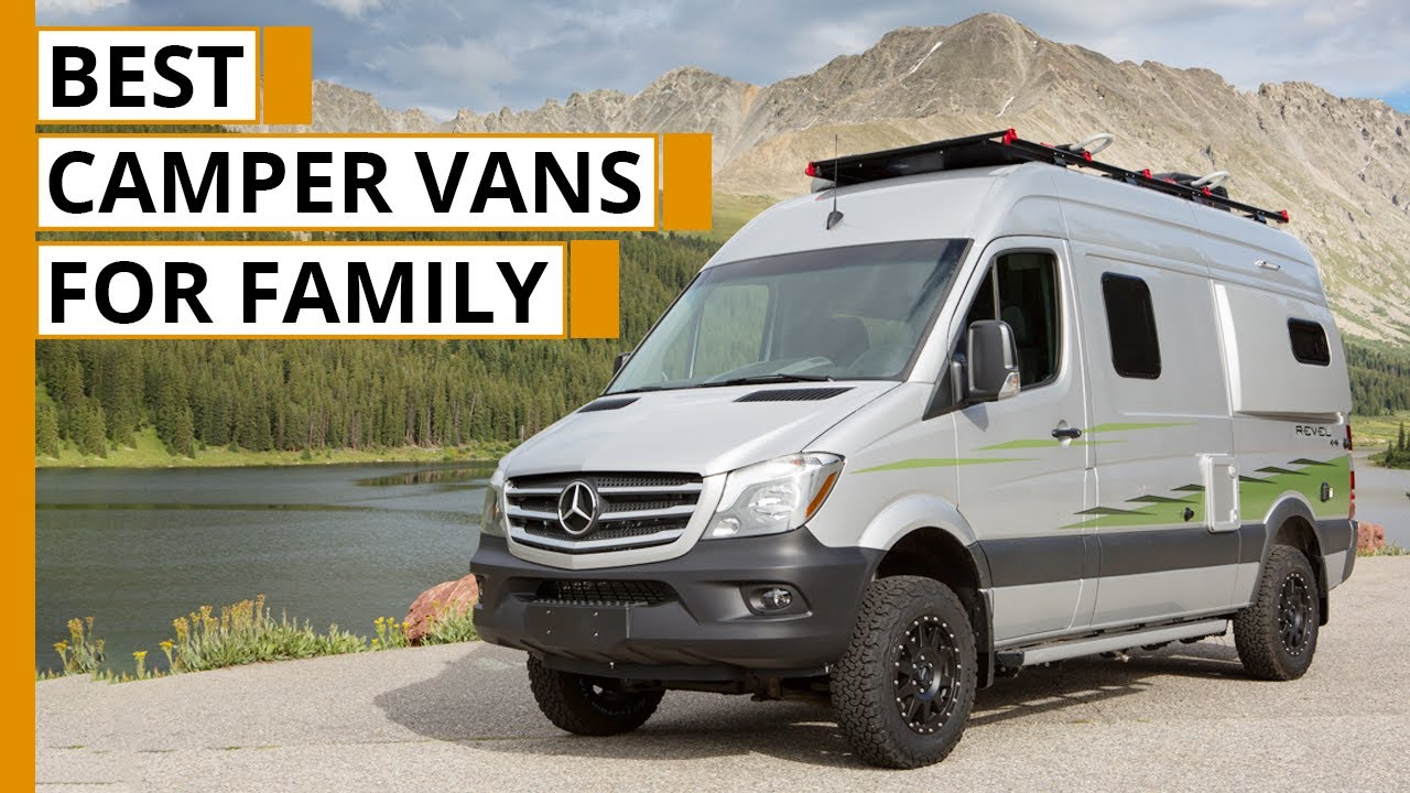 Top 5 New Camper Vans for Family Adventure