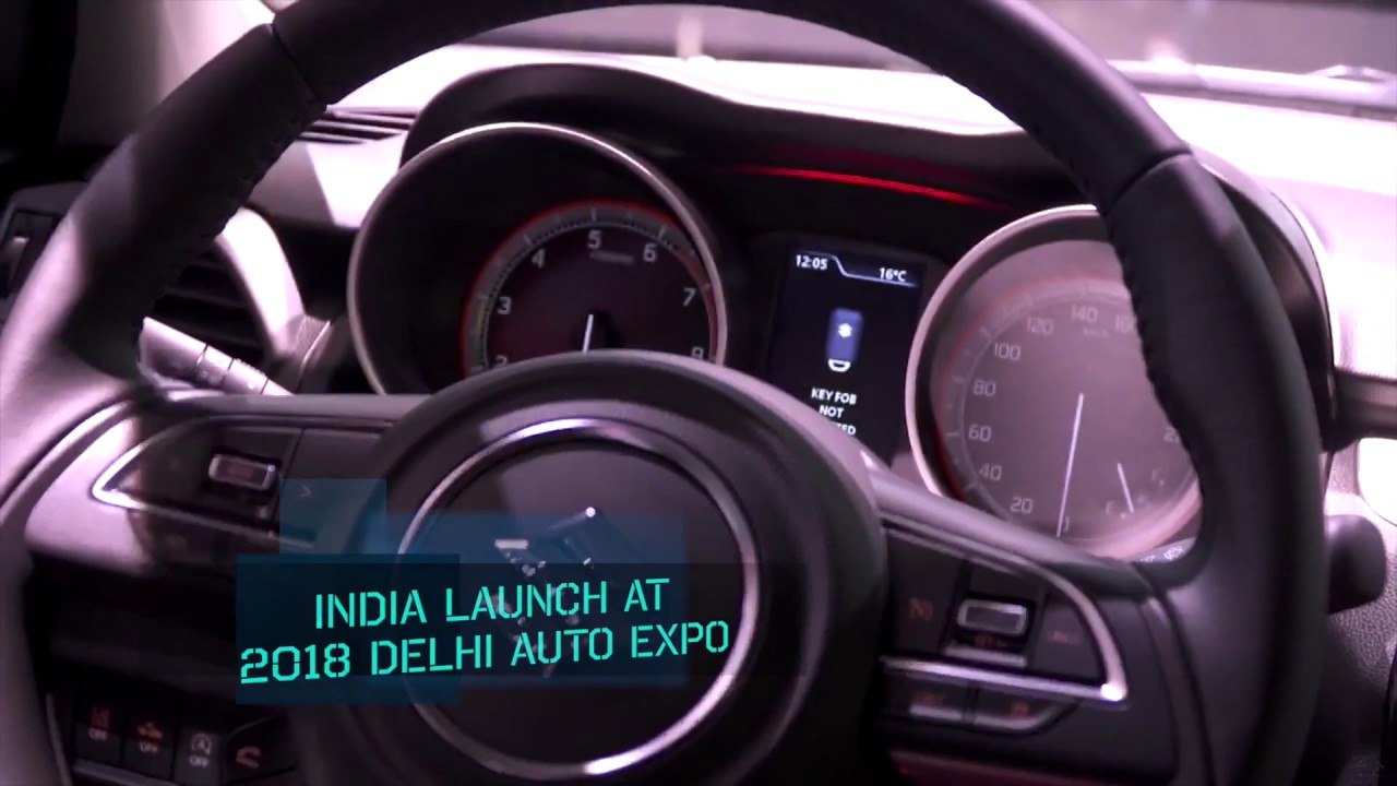 2018 maruti suzuki swift showcased at the 2017 geneva motor show