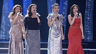 WATCH: Lea, Sarah, Lani, Angeline in inspiring number