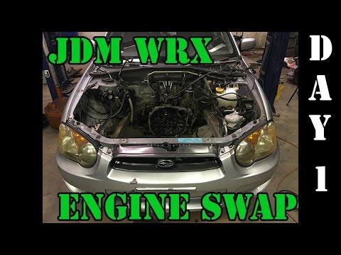 JDM WRX Engine Swap! – Day 1