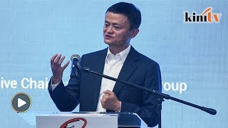 Jack Ma said he was inspired to create Alibaba by Dr Mahathir Moham...