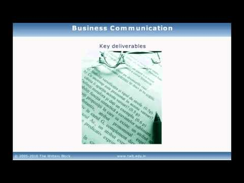 TWB Video Tutorial - Business Communication
