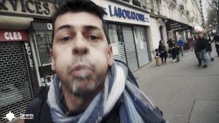 PARIS : UN RG DÉGUISÉ EN JOURNALISTE PÈTE UN PLOMB ET NOUS CRACHE DESSUS