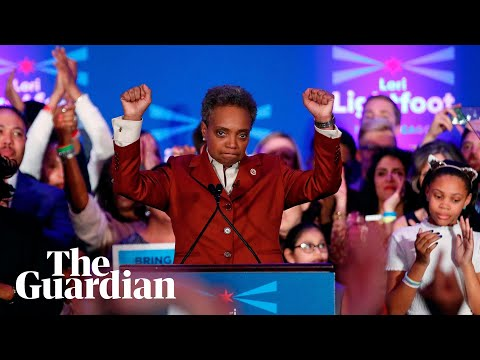 Lori Lightfoot: New Chicago mayor delivers powerful message after historic win