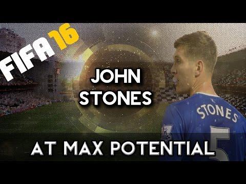 John Stones at MAX POTENTIAL - FIFA 16 Career Mode