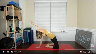 3rd Quarter Moon Yoga To Start Your Day - Wednesday, April 15th