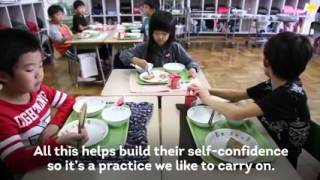 O-Soji (school cleaning in Japan)