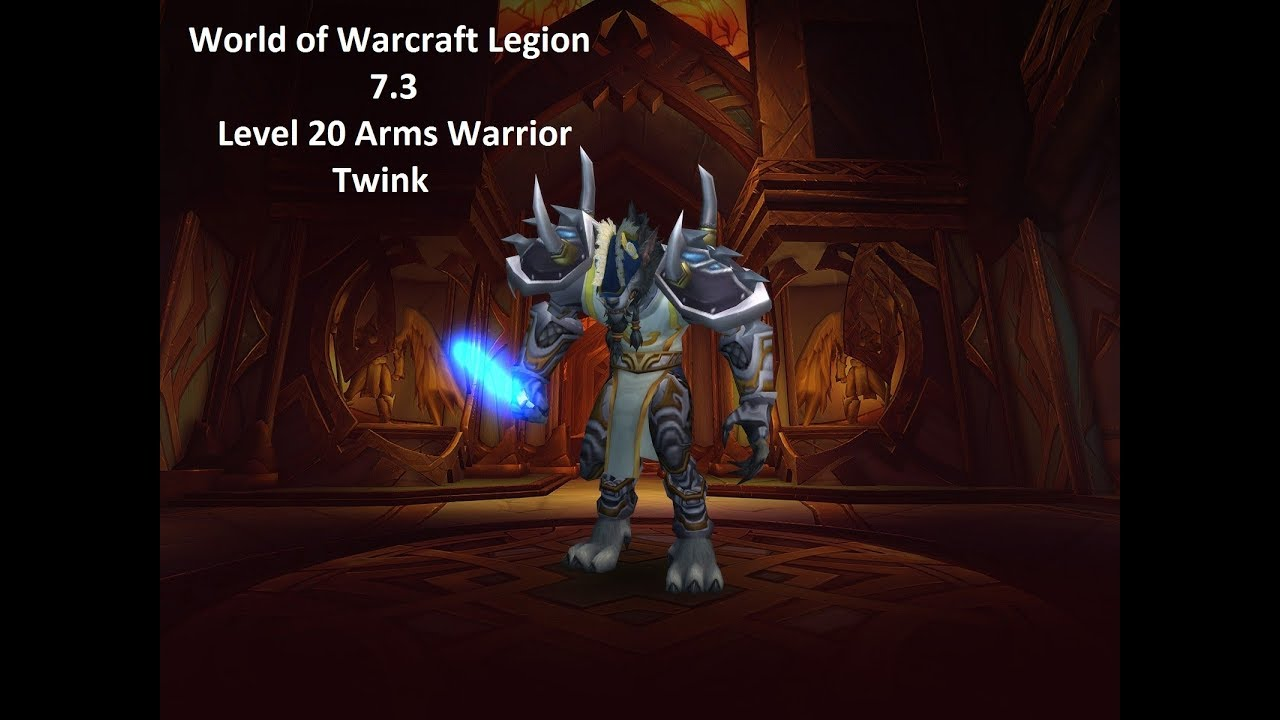Wow twink warrior spec