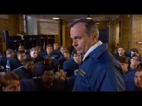 Rudy Notre Dame Locker Room Speech