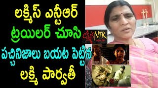 పచ్చినిజాలు Lakshmi Parvathi Emotional Speech About Lakshmi's NTR Trailer Movie | Cinema Politics