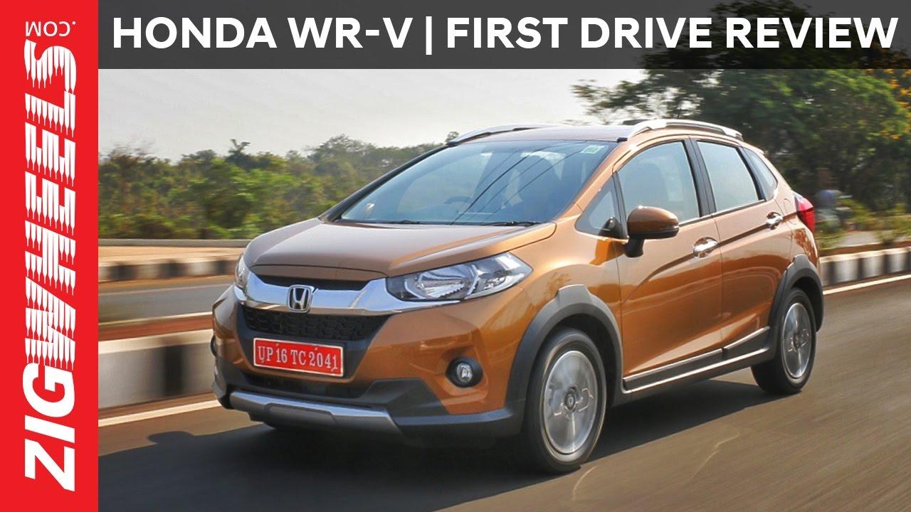 Honda Wr V Wrv First Drive Review Zigwheels Com Youtube