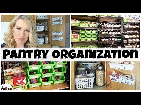 DOLLAR TREE PANTRY ORGANIZATION IDEAS || Small Pantry Organization HACKS