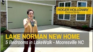 Lake Norman New Construction Homes - DR Horton's LakeWalk