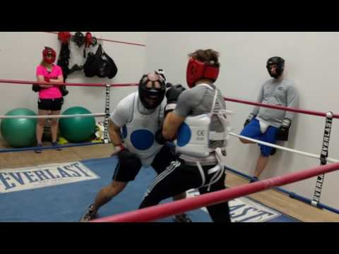 Trevor Young Boxing Sparring