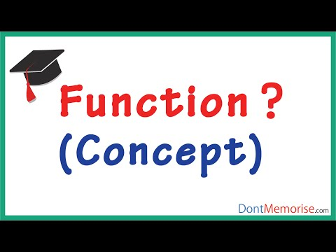 What is a Function? ( GMAT / GRE / CAT / Bank PO / SSC CGL)