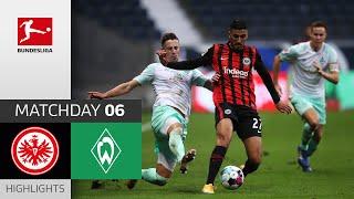 Eintracht Frankfurt SV Werder Bremen 1 1 Highlights Matchday 6 Bundesliga 2020 21