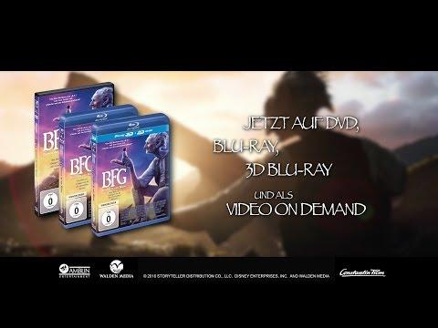 BFG – Sophie und der Riese - Jetzt auf DVD, Blu-ray und als VoD fragman