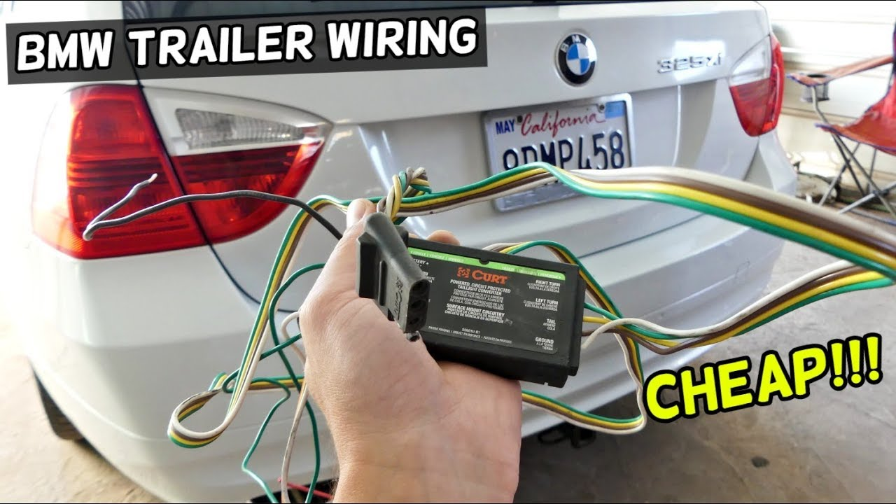 How To Install Hitch Wiring Harness On Bmw Demonstrated On