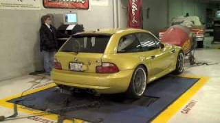BMW Z3 M Coupe Dyno