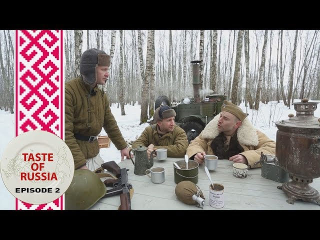 Food for warriors: Making 'Kulesh' in a WWII field kitchen – Taste of Russia Ep.2