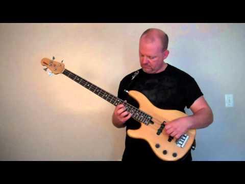 Bass Guitar Arpeggios - A Work In Progress