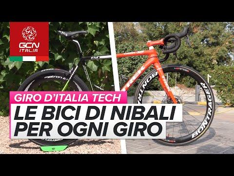 Le bici di Nibali al Giro d'Italia negli ultimi 10 anni | Bici dei PRO