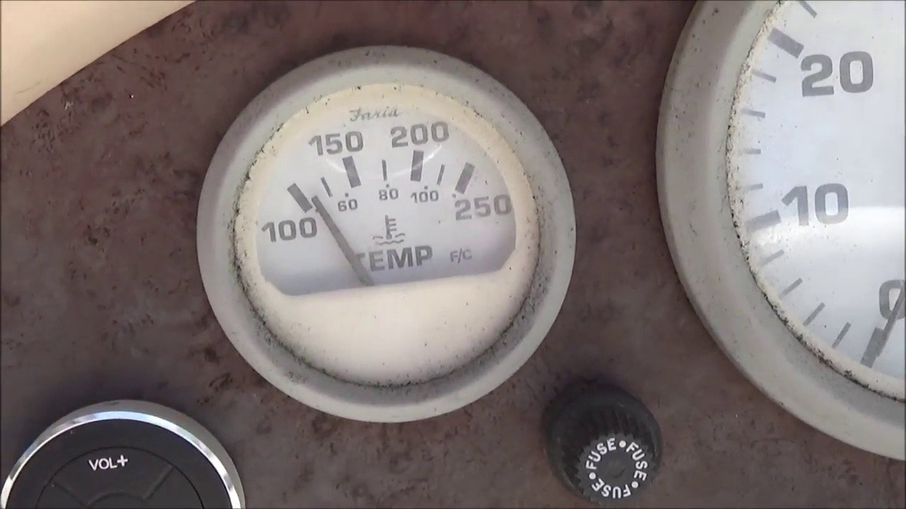 troubleshooting a mercury outboard temperature gauge sender [ 1280 x 720 Pixel ]