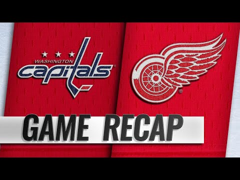 Capitals rally in 3rd to beat Red Wings