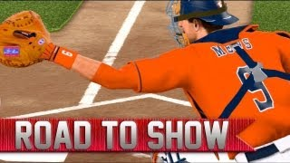 MLB 13 Road to the Show | New Position | Hit By Pitch Bawl [EP 23]