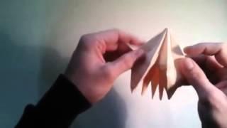 Como Hacer Una Rosa De Los Vientos Papiroflexia  [origami - Papiroflexia]