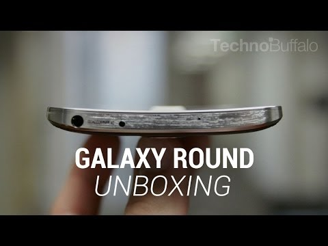 Galaxy Round Unboxing