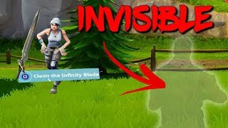INVISIBLE CHARACTER *NEW* GLITCH IN FORTNITE SEASON 7 - BATTLE ROYALE GLITCH