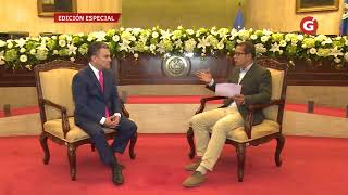 Entrevista de José Serrano, presidente de la Asamblea Nacional