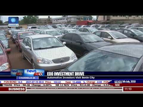 Vehicle Manufacturers, Investors Visit Benin City